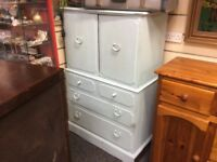 Vintage cupboard with drawers