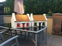 Garden cottages and bird tables