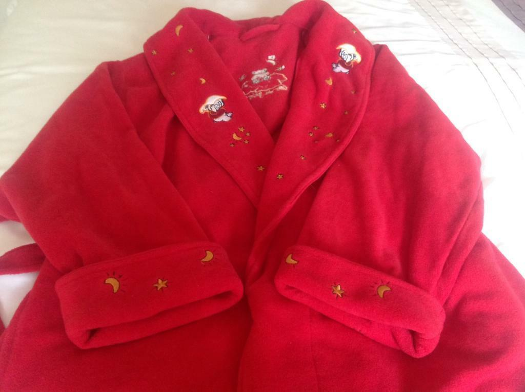 Ladies red fleece dressing gown size 22/24 | in Gateshead, Tyne and ...
