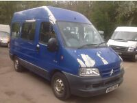 wanted panel beater body respray to fix my van.