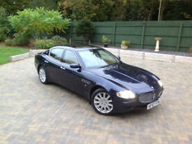 Maserati Quattroporte 4.2 V8(Fully-Loaded Luxury Supercar) Automatic 1 OWNER/FULL MASERATI SERVICE