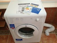 As new Indesit IDV75 tumble dryer - 4 months old