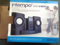 intempo iPod dock and speakers