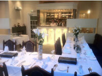 Modern Indian Restaurant requires part time waiting staff and kitchen assistants