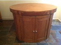 Kitchen island oak