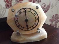 MARBLE CLOCK (Antique)