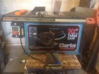 Clarke 10 inch circular saw