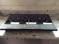 Digital Electric Double Induction Hob 2800 Watts