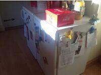 Under counter fridge and freezer free