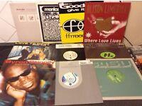 """X25 12"""" Classic house vinyl 1992+ mixed lot"""