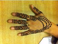 HENNA TATTOOS FOR ALL OCCASIONS. I.E EID, WEDDINGS, BIRTHDAYS..