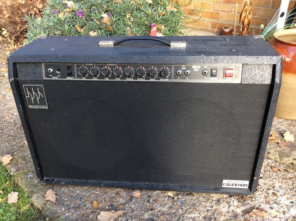 Amplifier with Celestion speakers