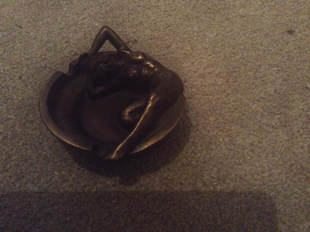 Art nouveau style ashtray