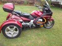 Honda st1300 Pan European Trike.