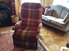 Beautiful reclining armchair.