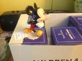 MICKEY MOUSE COLLECTION BY ROYAL DOULTON SIX DISNEY FIGURINES