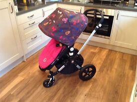 "Bugaboo Cameleon 3 Buggy -""Andy Warhol Happy Bugs"" As new - HALF PRICE compared to new"
