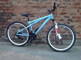 Gt chucker hardtail mountain bike, *postage available
