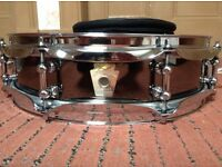 Ludwig black beauty piccolo snare drum