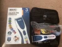 WAHL Cord or Cordless Colour Pro Hair Cutting Clippers
