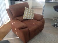 Harvey's Westchester 3 seater settee and chair
