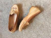 Clarke's Beige Loafers