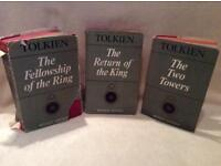 J.R.R Tolkien Lord Of The Rings Trilogy Books - 2nd Edition 1966 - RARE