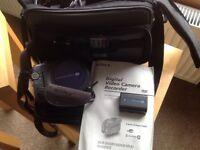 Sony Handycam straight to DVD recorder