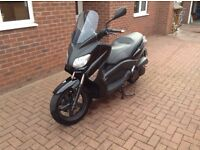 Yamaha X-Max 250 only 1980 miles from new, 64 reg