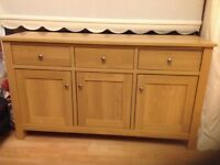 Oak Malvern Sideboard from Next in excellent condition