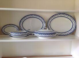 Wedgwood serving platters, veg serving dish & bowl