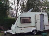 2 berth Elddis caravan