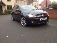 Volkswagen Golf gt tdi 2009 black 11 month m.o.t 155 k full vosa confirmation 1owner car from new