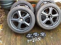 "18"" wheels - Nearly new - 235/407R18 95W XL - 5 Stud"