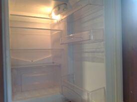 Integrated fridge/freezer (Candy) £75 for fridge, £25 for unit.