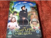 DVD Nanny McPhee and the big band theory £2
