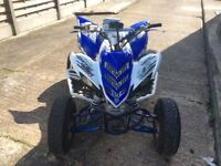 Yamaha raptor 700r road legal