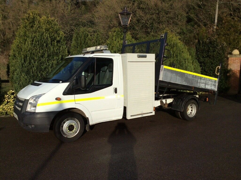 Ford transit 350 tipper utility vehicle 2012 6