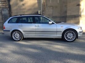 Left hand drive, BMW 325i Touring 2002 Facelift