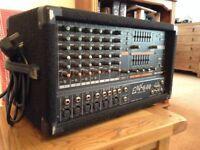 Yamaha EMX 640 mixer amplifier. 6 channel, 200W.