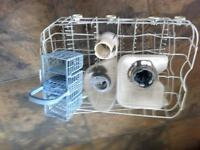 Indesit baskets and filters