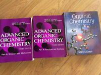 Chemistry textbooks for undergraduates