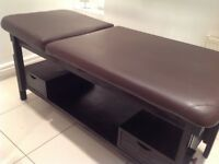 Beauty spa bed