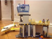 Playmobil Airport (3186), Aeroplane (3185) and Coach (3169)