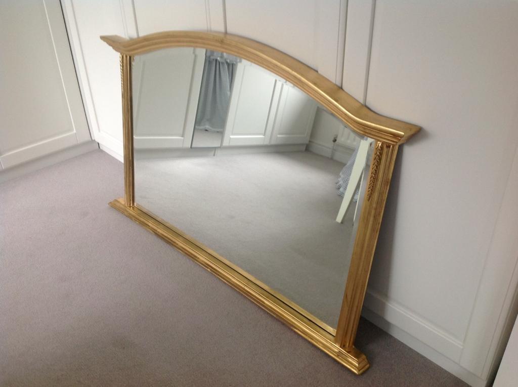 Large gilt framed Mirror   in Ahoghill, County Antrim   Gumtree