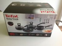 Tefal Easy Cook 4 piece set. 4 x pans various sizes.
