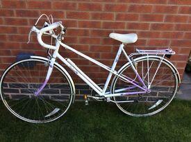 """Vintage RALEIGH CANDICE Ladies Racing Road Bike 21"""" FRAME 100% Original"""