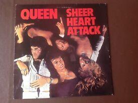 """Vinyl LP. .."""" Queen"""" """"Sheer Heart Attack"""" 1974...Original."""