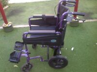 Collaspeable wheel chair