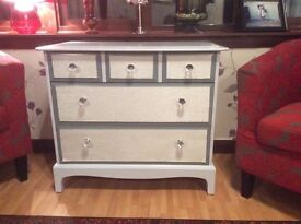 Quality Stag Painted Dresser